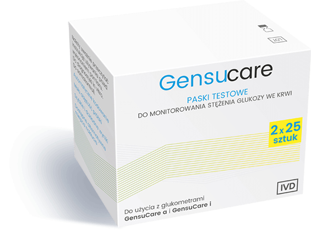 Gensucare paski testowe